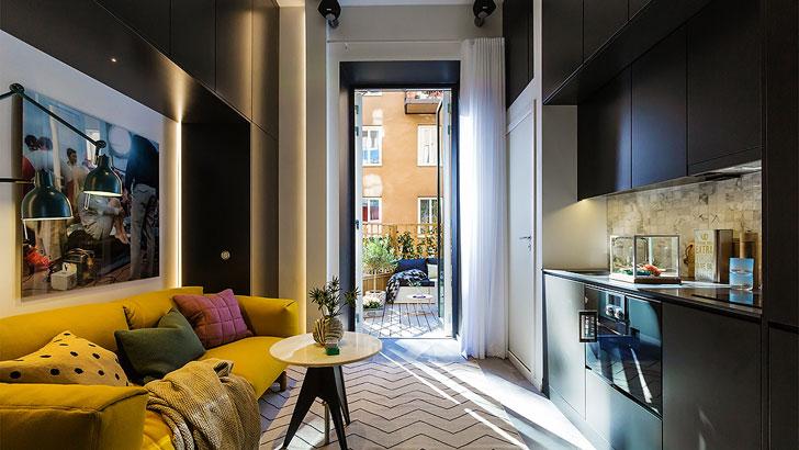 Дизайн квартиры площадью 16 метров