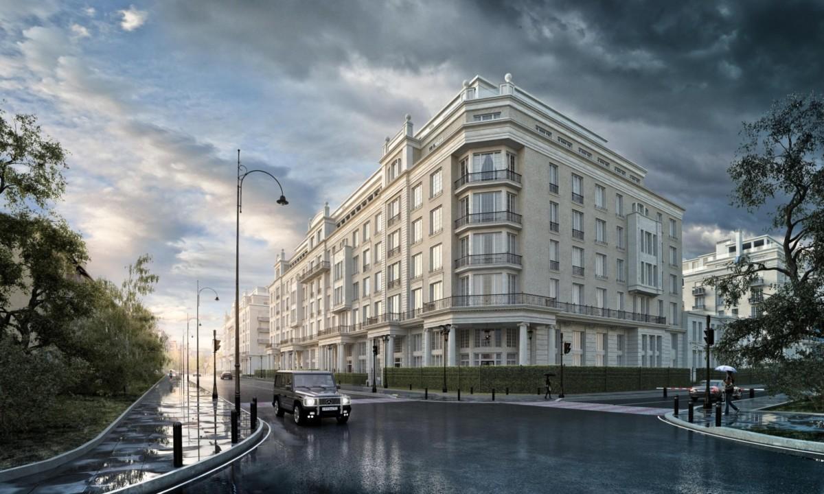 Обвал рынка элитного жилья в Москве составил 25% за год