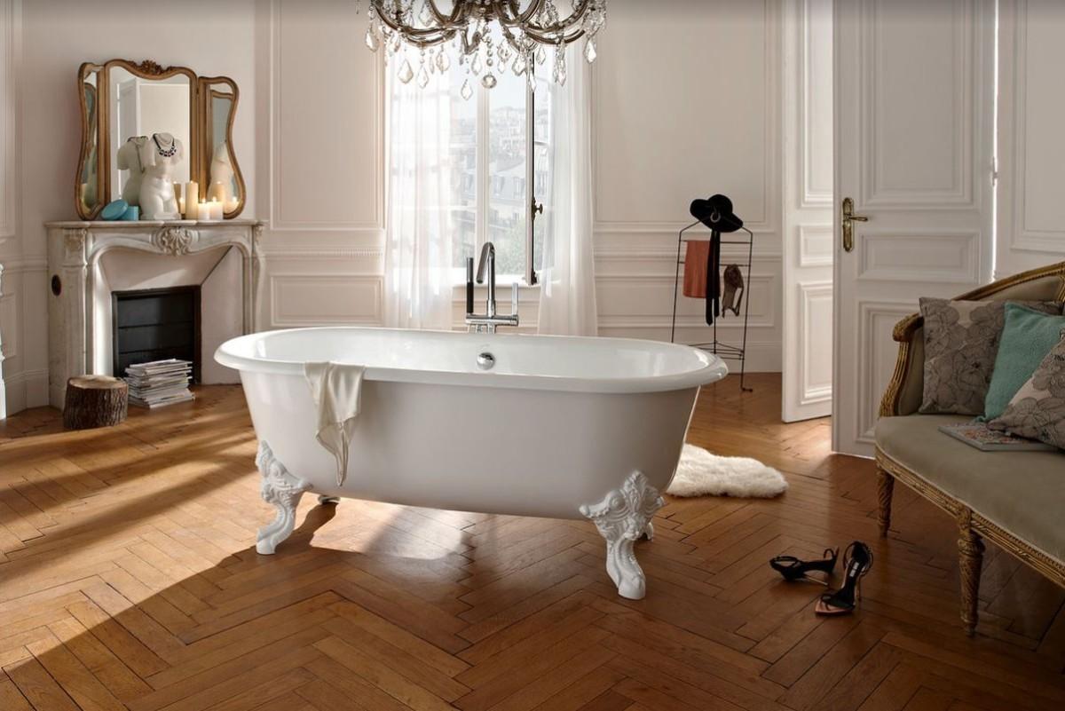 Как сделать ванную комнату образцом французского стиля
