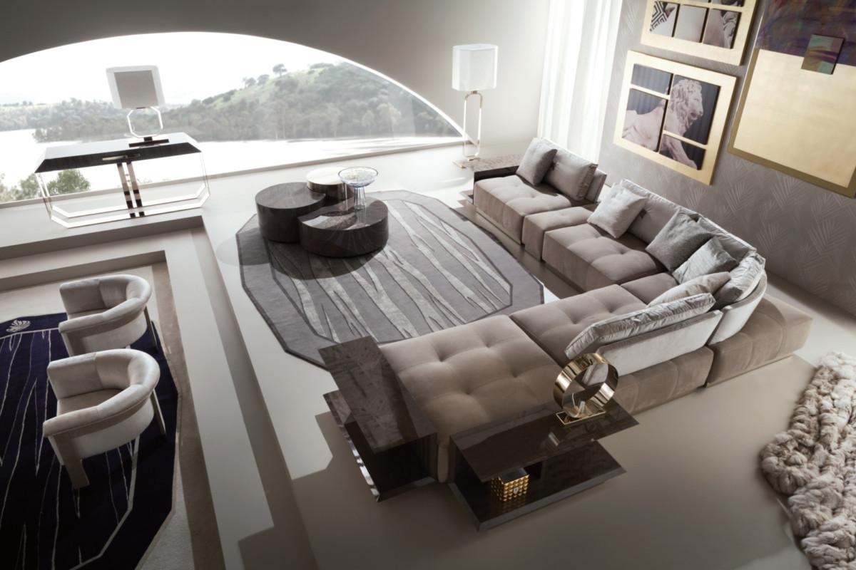 Как за две недели обставить интерьер дорогой мебелью