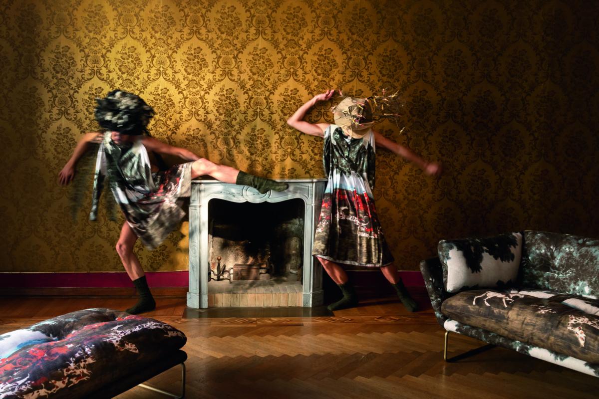 Модная мебель: на стыке интерьера и фешн