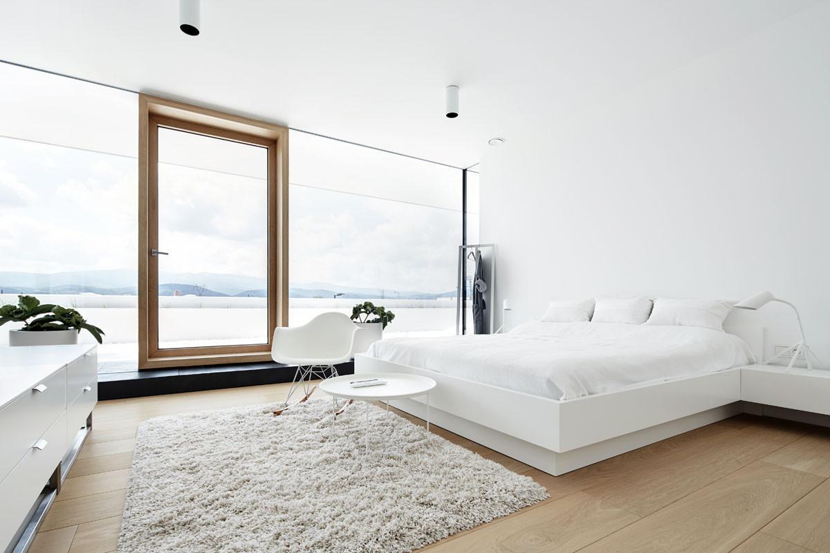Белые спальни: идеи для дизайна в шести стилях