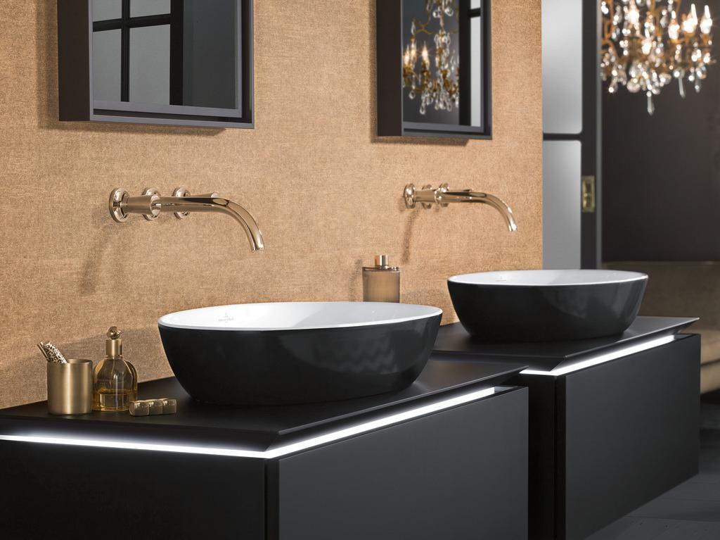 Функциональная коллекция Legato от Villeroy & Boch создаст в ванной комнате уют