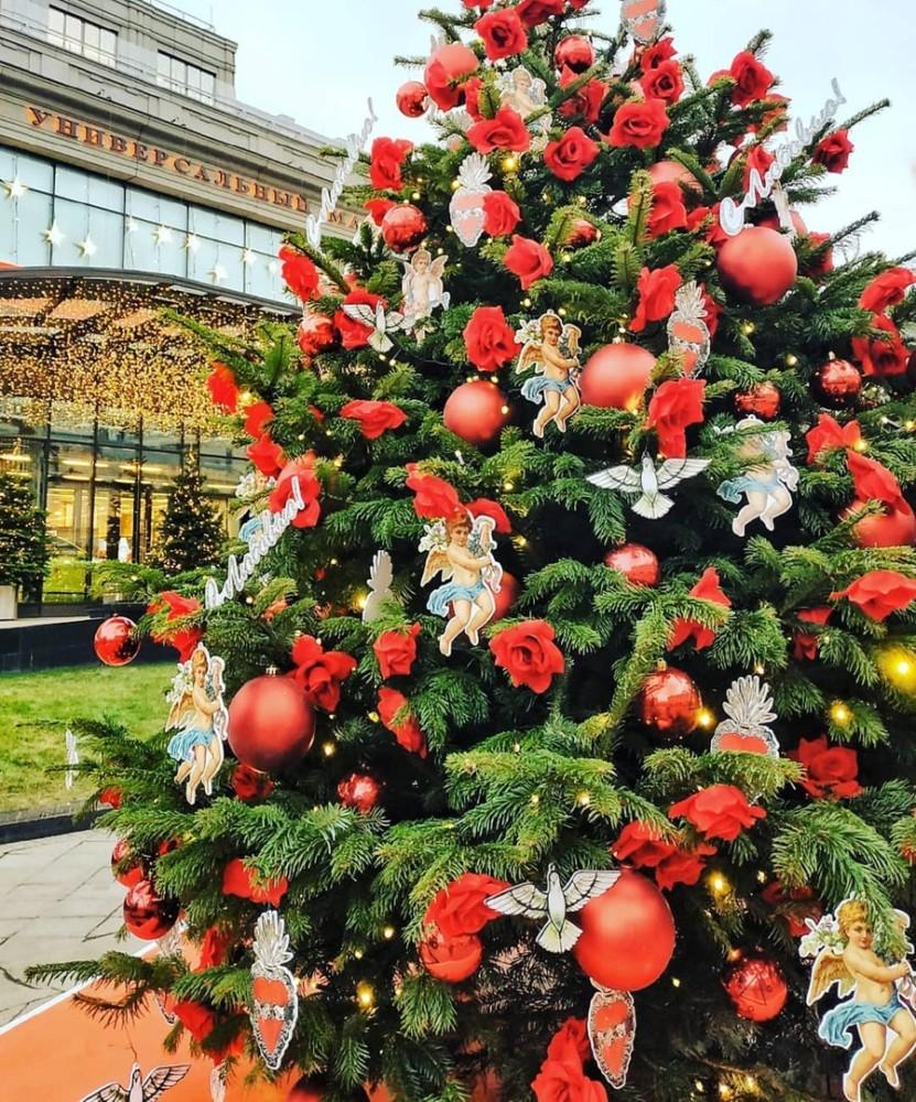 Самые красивые ёлки Москвы: гуляем и смотрим на декор