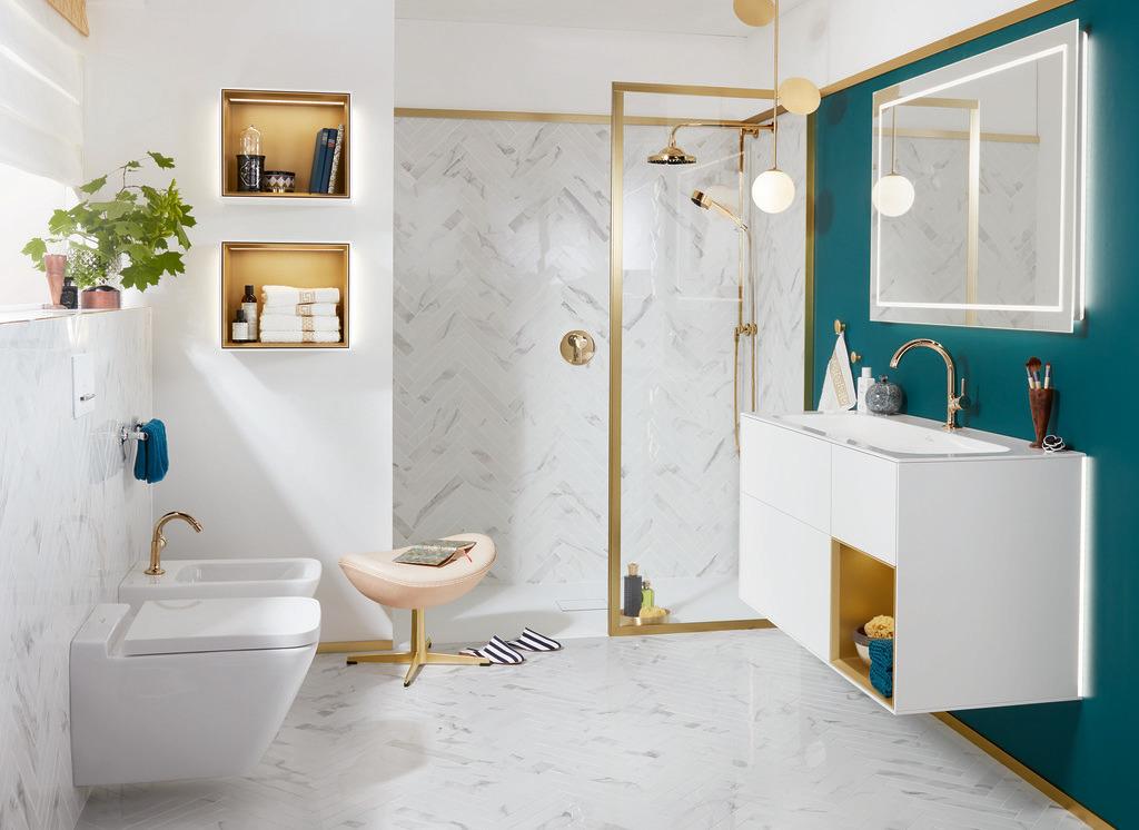 Как организовать хранение в ванной комнате: идеи от Villeroy & Boch
