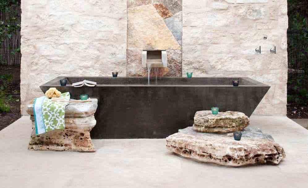 Ванна на даче: зона спа на свежем воздухе — 50 идей