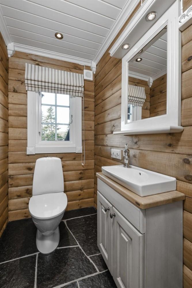 Туалет в частном доме: 40 стильных идей
