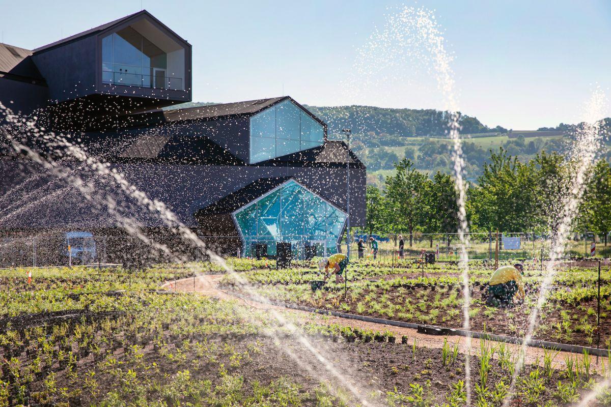 Новый проект Пита Аудольфа на кампусе Vitra