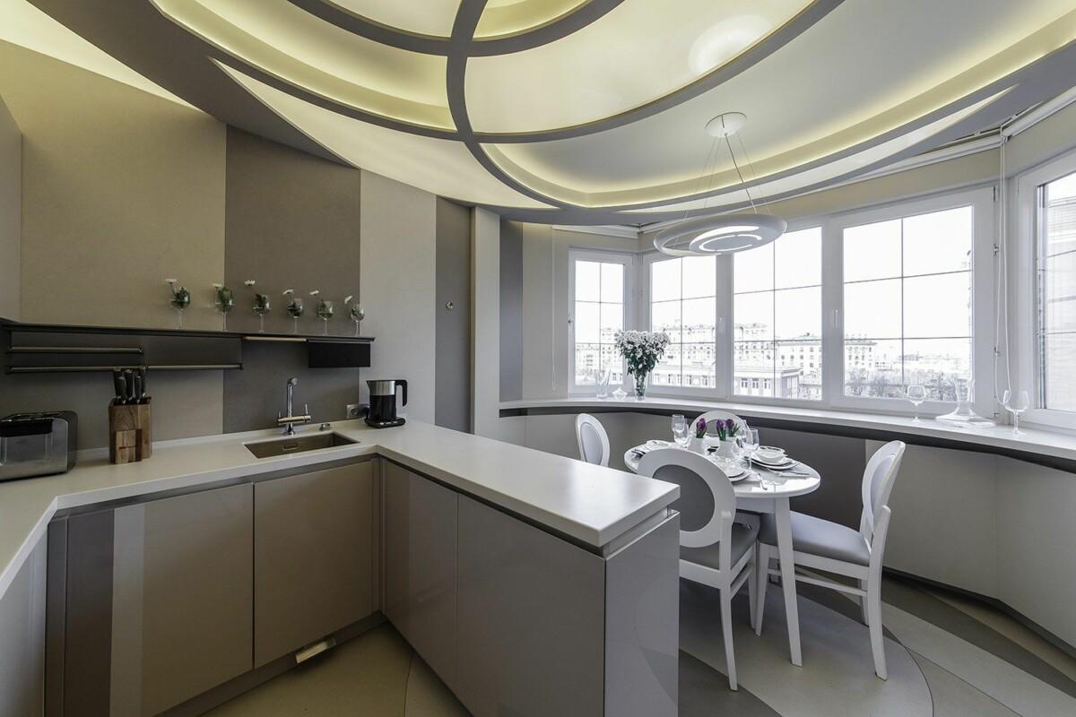 Расширяем кухню: 20 эффективных способов разгрузить пространство