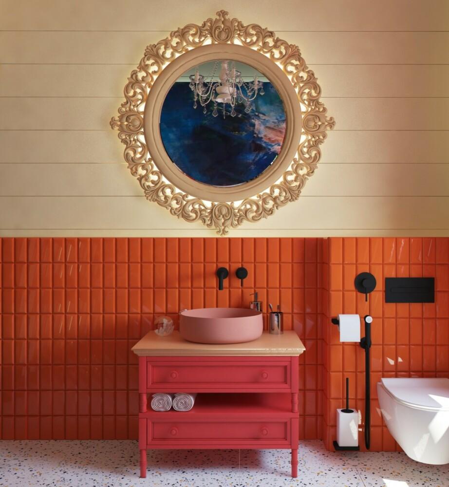 Две крутые идеи дизайна для одной ванной комнаты