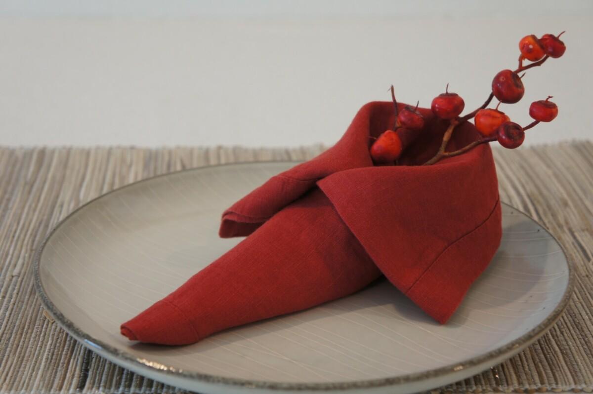 Как красиво сложить салфетки: 50 идей для сервировки новогоднего стола