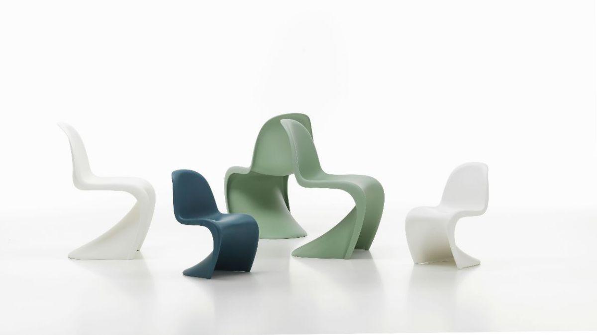 Компания Vitra обновила серии стульев Panton Chair
