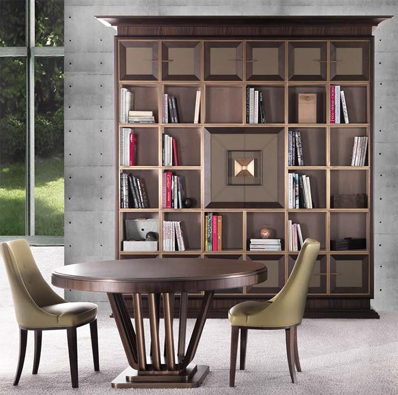 Дуэт столиков для спальни и гостиной от Annibale Colombo