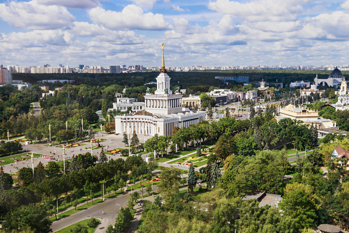 Москва восстанавливает исторические павильоны ВДНХ